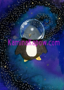 Penguin in Space