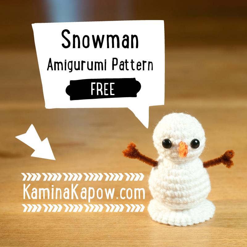 Amigurumi Snowman Pattern