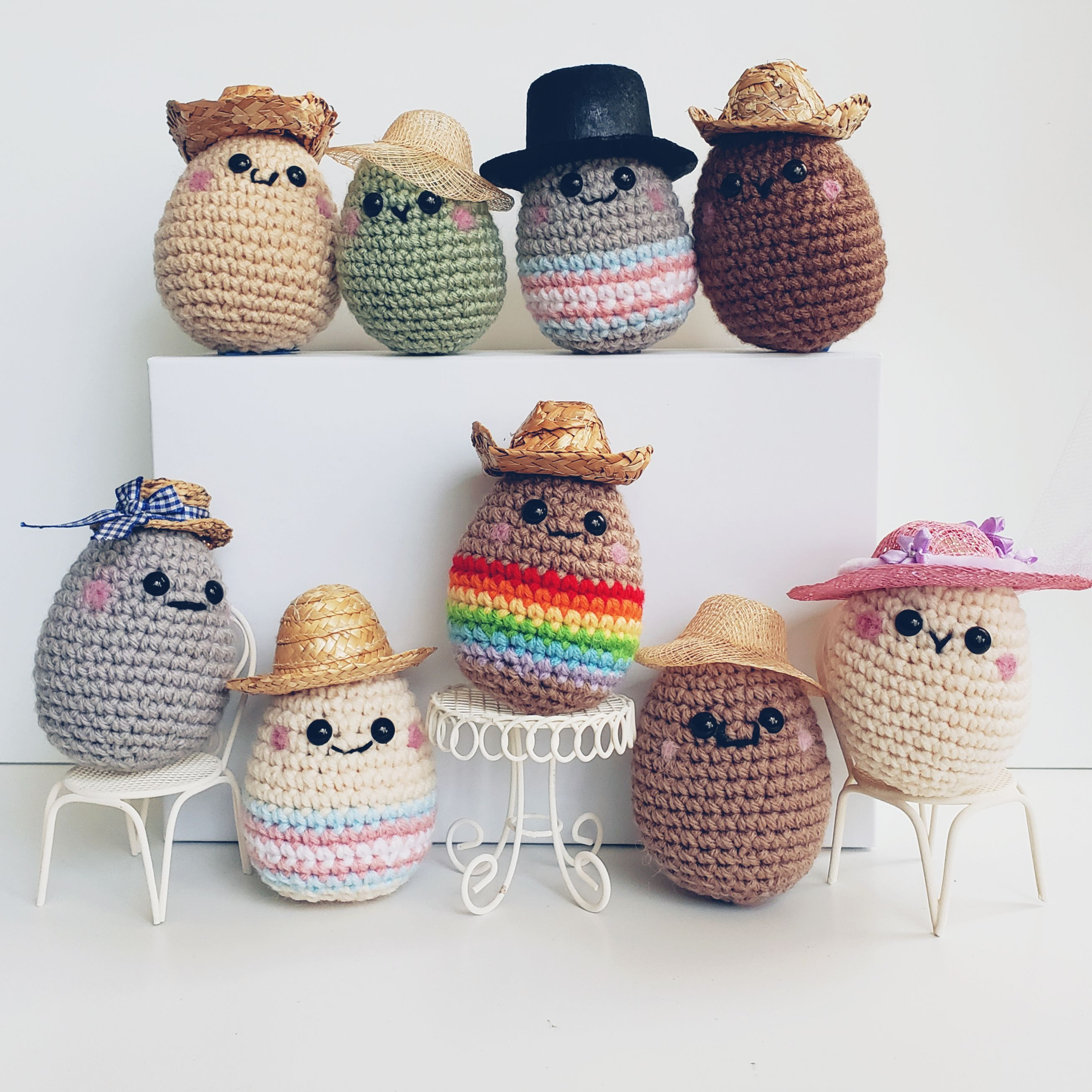 How to read amigurumi crochet patterns ? – June Lee Hooker | 2616x2616